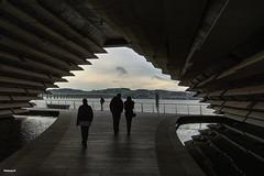 The V&A with Tay Bridge (ALANSCOTT1) Tags: dundee va tayside taybridge