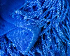 a Certain Blue (risaclics) Tags: crazy tuesdays blue 60mmmacro march2019 nikond610 textiles texture crazytuesdays