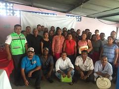 En coordinación con PNUD_Mexico trabajamos para que las comunidades incrementen su resiliencia ante desastres