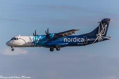 Nordica ES-ATA (A) (U. Heinze) Tags: aircraft airlines airways airplane flugzeug planespotting plane haj hannoverlangenhagenairporthaj eddv nikon d610
