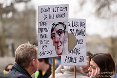Put It To The People March - London, 23 March 2019 (The Weekly Bull) Tags: brexit britain conservative eu europeanunion jacobreesmogg london peoplesvote tory uk democracy demonstration placard protest rally rerun referendum remainers