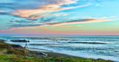 IMG_3169 (afterthephoto) Tags: beach blue pink cloudy coastline fun ocean picturesque scenic sea seaside shore skies view water weather