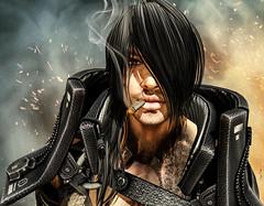 Space Pirate (Migan Forder) Tags: hero fantasy male warrior portrait retrato scifi