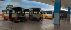 The Panoramas - Inside the Intermunicipal Bus Station (lezumbalaberenjena) Tags: panorama panoramic cuba villas villa clara santa lezumbalaberenjena 2019 guagua bus omnibus diana terminal station estacion intermunicipal vieja