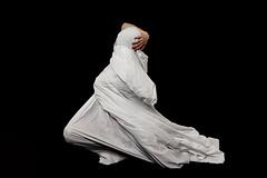 There's No Light Today (○gus○) Tags: nikond750 240700mm ƒ45 1125 portrait ritratto woman donna girl ragazza body corpo bedsheet lenzuolo white bianco black nero wrap wrapped ec ʂ