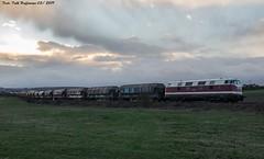 118 719 EBS bei Ebeleben 25.03.2019_01 (Falk Hoffmann) Tags: diesellok eisenbahn bahnhof güterzug reichsbahn dr ebs babelsberger dicke br118 br228