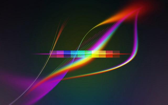 Обои линии, волнистые, фон, яркий, разноцветный картинки на рабочий стол, фото скачать бесплатно