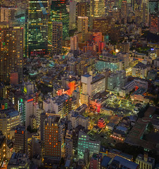 The Chaos of Tokyo (Trey Ratcliff) Tags: japan tokyo treyratcliff stuckincustoms stuckincustomscom aurorahdr hdr hdrtutorial hdrphotography hdrphoto cityscape night long exposure architecture streets fineart treyratcliffcom hasselblad x1d