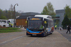 IMGP8715 (Steve Guess) Tags: brooklands weybridge surrey england gb uk bus rally openday stagecoach alexander dennis enviro 200 glide guildford park ride byd battery electric parkride mmc lj68czb