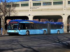 5563 (adam.moreira) Tags: mta new york city bus nova lfs articulated select service