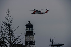 Cape D Coast Guard (Krystal.Hamlin) Tags: lighthouse washington coastal helicopter coast guard military ocean