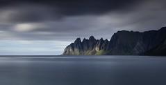 Tungeneset coast (Kevin.Grace) Tags: tungeneset island norway sonja coast sea moody long exposure dark clouds