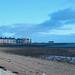 A quite beach.