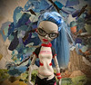 Ghoulia With the Abstract (BKHagar *Kim*) Tags: bkhagar monsterhigh doll ghoulia yelps ghouliayelps collection blue hair glasses abstract happymonstermonday hmm