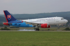 OM-BYA Airbus ACJ319-115X Slovak Government Touch Down Sliac 01st September 2018 (michael_hibbins) Tags: ombya airbus acj319115x slovak government touch down sliac 01st september 2018 aeroplane aviation aerospace aircraft airplane air aero airshow airfields airport airports aeroexpo plane planes jet jets military transport tactical strategic defence