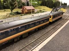 Class 73 (Callum's Buses and Stuff) Tags: class73 mk1 mk2 nse newcastleton class 73 hornby bachmann station coaches br bridge lothian waverley waverleyroute route