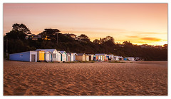 Party @ 55 (Aperture Variance) Tags: mountmartha mtmartha mornington morningtonpeninsula beach sunset orange boathouses shacks beachhouses melbourne victoria australia