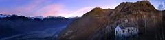 alpe di Lüt (art & mountains) Tags: alpi alps ossola motta colmadipremosello hiking trekking esc esp gulp gasp condivisione chiesetta bosco natura silenzio contemplazione cime range alpeggio sunrise vision dream spirit