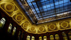The glass ceiling (Bosc d'Anjou) Tags: italy milan milano bancacommercialeitaliana gallerieditalia lucabeltrami