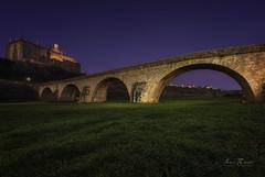 El puente (H.M.MURDOCK) Tags: coria cáceres extremadura puente rio alagón paisajes nocturnas viajes pueblos nikon d610