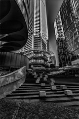 Cubes Curves and Lines (Peter Polder) Tags: martinplace australia alley architecture abstract art building buildings cityscape city cityscapes cityview exterior evening landscape monochrome mono road sydney street skyline urban skyscraper sky z