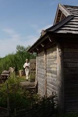 At the Wallmuseum (dididumm) Tags: museum building house wood wooden haus gebäude ausholz hölzern starigard wallmuseum oldenburg schleswigholstein germany