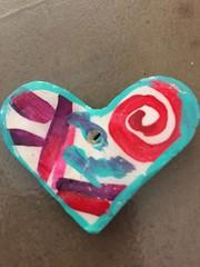 Valentines Art2019 (Mr. Happy Face - Peace :)) Tags: love craft macromondays theme valentine february art2019 closeup
