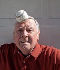 I Have Never Been Able to Successfully Balance a Baseball on My Head (ricko) Tags: selfportrait baseball unsuccessful balancingattempt werehere 63365 2019