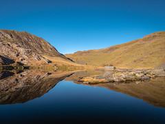 Mirror-Mirror (Howie Mudge LRPS BPE1*) Tags: lake water mirrrorimage reflection hills landscape nature ngc nationalgeographic travel adventure gwynedd wales cymru uk panasonicg9 microfourthirds mft m43 panasonicdcg9 leicadg1260f2840