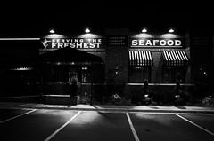 freezing night in texas 2 (peaceblaster9) Tags: winter night quiet restaurant austin texas bnw bw blackwhite blackandwhite travel ricoh ricohgr2 gr2 冬 夜 レストラン 旅 白黒 モノクロ モノクローム