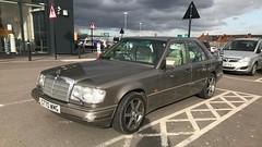 260E (Sam Tait) Tags: 1989 merc mercedes benz 260e 260 e class auto brown petrol 26 automatic retro rare classic car leather seats w124