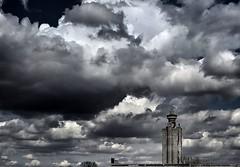 Cloudscape (superhic) Tags: clouds cloudscape city dark building skyscraper belgrade serbia westerncitygate genextower oblaci grad neboder beograd srbija zapadnakapijabeograda geneks kula national sky
