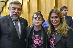 CAS - Dia Internacional da Síndrome de Down (Senado Federal) Tags: cas comemoração diainternacionaldasíndromededown evento ninguémficapratrás seminário senadorflávioarnsredepr foto pose brasília df brasil bra