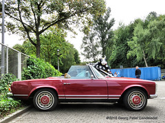 Mercedes Cabriolet, 1969 (linie305) Tags: bochum ruhrgebiet ruhrpott ruhrarea liermann classic day liermannclassicday2018 auto automobil meeting show carshow oldtimer classiccar oldcar youngtimer german mercedes daimler benz convertible cabrio cabriolet 1969