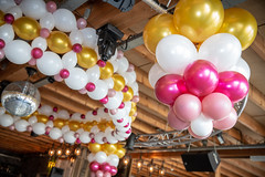 Plafond ballon decoratie