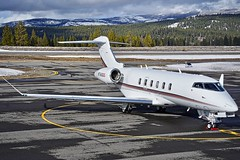 2018 Bombardier Challenger 350 N760QS c.n 20755 at Truckee Airport California 2019. (planepics43) Tags: bombardier challenger 350 n760qs 20755 truckeeairport airport aviation airplane airshow pilot planes planespotting plane landing claytoneddy cessna cockpit 17crossfeed tower takeoff taxi transportation learjet gulfstream