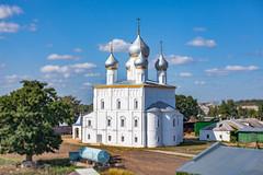 Savior Transfiguration Church (Rostov, Russia) (KonstEv) Tags: church cathedral orthodox architecture rostov russia building cross dome