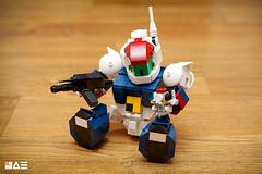 LEGO SD VIFAM (STICK KIM) Tags: mecha 80s roundvernian vifam moc chibi robot sd lego