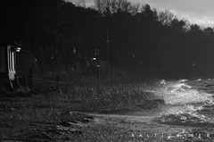 beim Fischer (baltickiter) Tags: ostsee strand salzhaff nikon wind wasser wellen