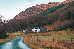 Last House in the Valley (Octal Photo) Tags: 500px rolling landscape countryside valley scenery scenic mountain hill rural scene range lodge farm farming field fields road tree trees forest landscapes last house dunoon scotland unitedkingdom