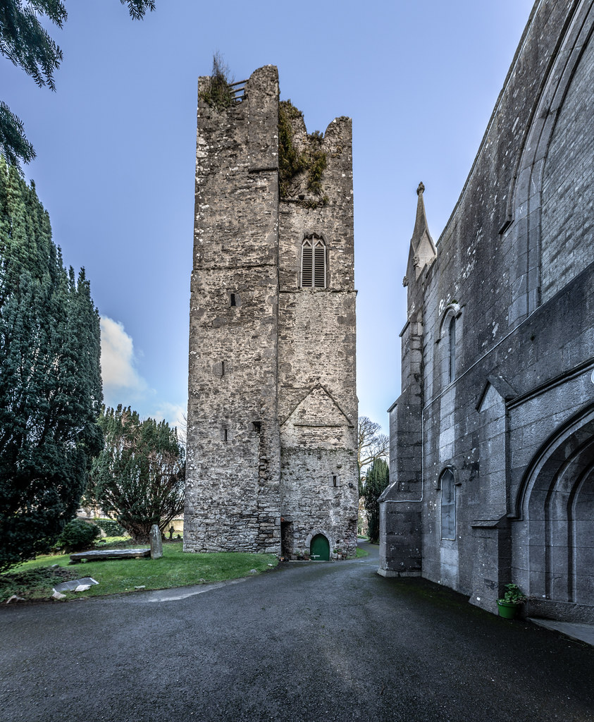 ST COLUMBA'S CHURCH AND GROUNDS IN SWORDS COUNTY DUBLIN [CHURCH ROAD]-148800