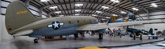 Curtiss C-46D Commando (Serendigity) Tags: arizona c46d commando curtiss pimaairspacemuseum transport tucson usa unitedstates wwii aircraft aviation hangar indoors museum panorama unitedstatesofamerica