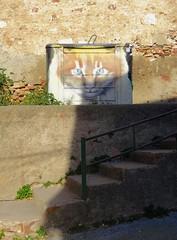 (Joan Pau Inarejos) Tags: gat gato cat felino animal animals escala escalera racons santboi street art steps stairs