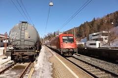 ÖBB 1216 032-3 Eurocity, Steinach in Tirol (TaurusES64U4) Tags: öbb taurus 1216