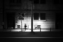 the night time stood still (Neko! Neko! Neko!) Tags: blackandwhite blackwhite bw mono monochrome dreams night memory shadows light contrast emotion feeling subconsciousness expression expressionism