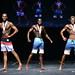 Men's Physique Tall 2nd #8 Peters 1st #5 Abdurahman 3rd #7 Dragicevic