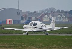 G-CIRI Cirrus SR-20 (SteveDHall) Tags: aircraft airport aviation airfield aerodrome aeroplane airplane blackpool blackpoolairport bpl blk egnh 2019 generalaviation ga gciri cirrus sr20 cirrussr20