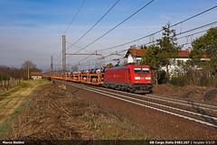 DB E483.107 (Marco Stellini) Tags: db cargo italia sacconago malpensa intermodale volvo treno merci internazionale gent traxx bombardier