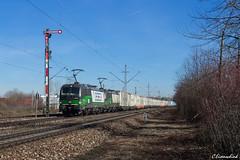ELL 193 211 und 193 241 in Freimann (TheKnaeggebrot) Tags: siemens vectron ell 193 193211 193241 ecco rail klv ekol freimann formsignal