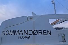 Kommandøren (Bergenships) Tags: kommandøren kommandoren fjord1 zerocat120 fjellstrand ferge ferje carferry ferry ship bergen tysnes halhjem våge